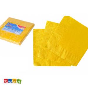 SET 20 Tovaglioli di carta Gialli - KADOSA