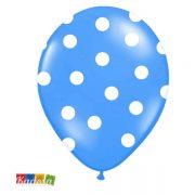 Palloncini Blu pois Bianchi - Kadosa