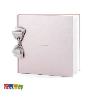 Guest Book Matrimonio Rosa con Fiocco - kadosa