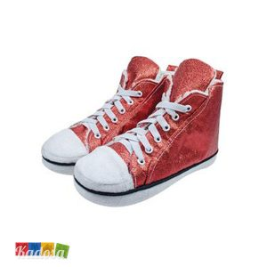 Pantofole ALL STAR Style Sparkiling Red - Kadosa