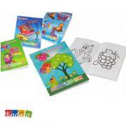 Quaderno da Colorare per Bambini con 42 Pagine e Tanti Disegni - Kadosa