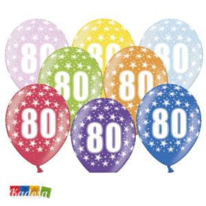 Palloncini 80 Anni - kadosa
