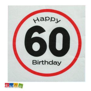 Tovaglioli 60 Anni - Kadosa