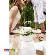 Cake Topper LOVE oro - Kadosa