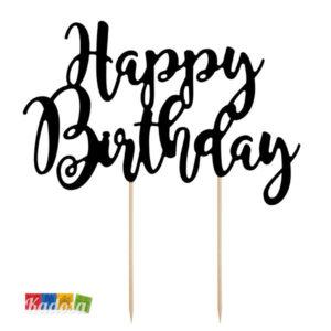 Topper Happy Birthday - Kadosa