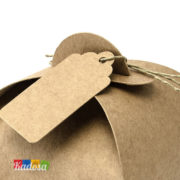 Scatole porta confetti Rustiche - Kadosa