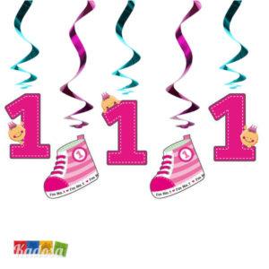 ghirlanda 1 anno rosa - kadosa