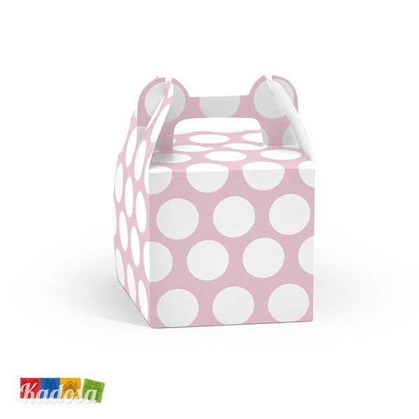 Box porta dolci Pois Pastello - Kadosa