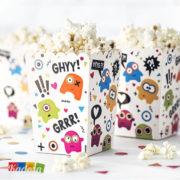 Box Porta Pop Corn Monster - Kadosa