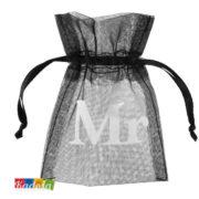 Bustine Porta confetti Nere MR - Kadosa