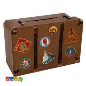 Gift Box VALIGIA tema Viaggio - Kadosa