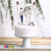 Cake Topper My Love Wedding -