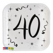Piatti Party 40 anni - kadosa