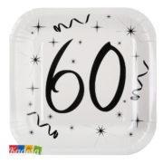 Piatti Party 60 Anni - Kadosa