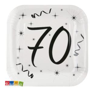 Piatti Party 70 Anni - Kadosa