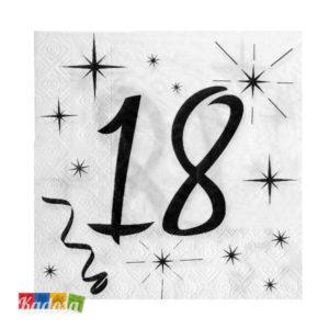 Tovaglioli Party 18 Anni - Kadosa