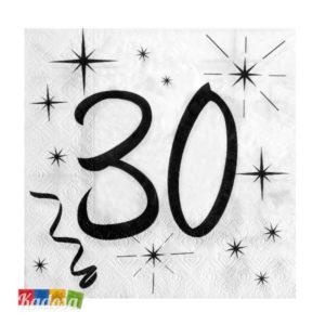 Tovaglioli Party 30 Anni - Kadosa