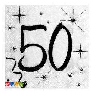 Tovaglioli Party 50 Anni - Kadosa