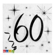 Tovaglioli Party 60 Anni - Kadosa