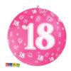 Palloncini Giganti 18 Anni da 1 Metro Set 5 pz in Colori Assortiti - Kadosa