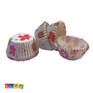 Mini Pirottini Cupcake FIORI - Kadosa