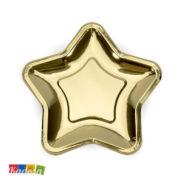 Tovaglioli di Carta Decorazione Oro Confezione da 20 pz - Kadosa