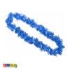 Collana Hawaii Blu con Petali Sintetici - Kadosa