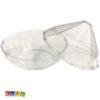 Scatole Porta Confetti Diamante Plexiglass Trasparente Set 4 pz - Kadosa