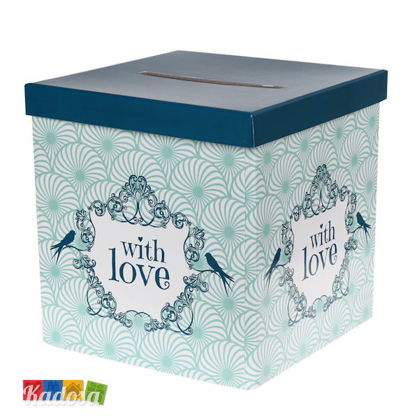 Gift Box Green With Love - Kadosa