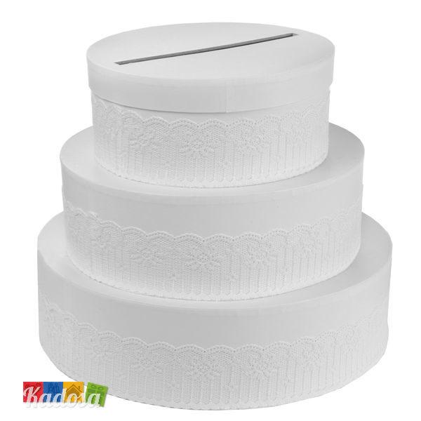 Gift Box Wedding Cake - Kadosa