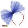 Cerchietto con Tulle Blu - Kadosa