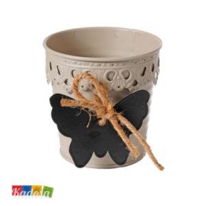 Vaso Latta Tortora porta confetti o fiori - Kadosa