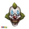 Maschera Clown Horror Halloween in Cartoncino con Elastico - Kadosa