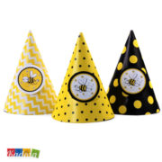 Cappellini Cono Ape Ideali x Compleanni Set 6 pz - Kadosa