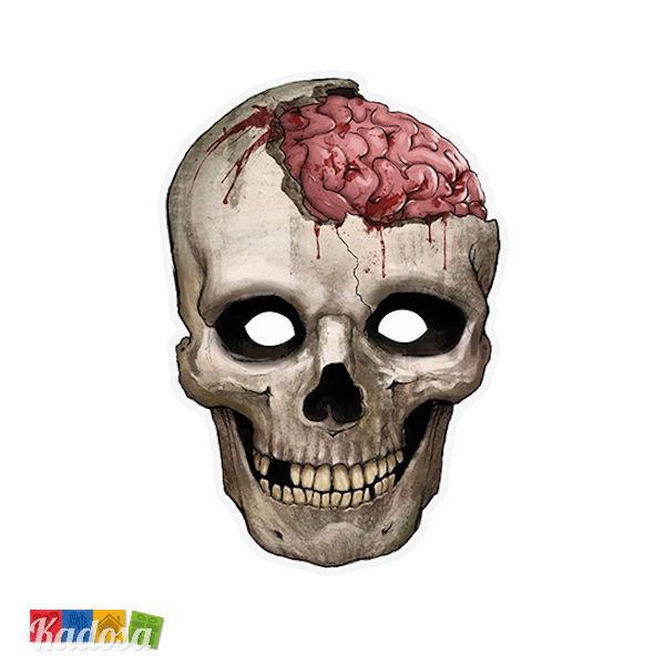 Halloween Maschere.Maschera Teschio Halloween
