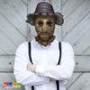 Maschera Spaventapasseri Halloween in Cartoncino con Elastico - Kadosa