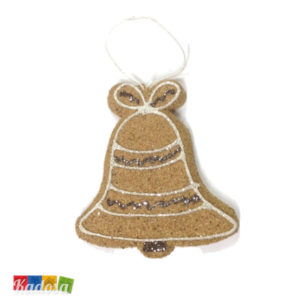 Biscotti CAMPANA Natural per Albero di Natale - Kadosa