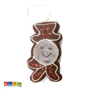 Biscotti FIOCCO DI NEVE Choco per Albero di Natale - Kadosa