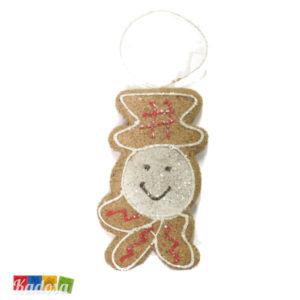 Biscotti FIOCCO DI NEVE Natural per Albero di Natale - Kadosa