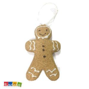 Biscotti OMINO PAN DI ZENZERO Natural per Albero di Natale - Kadosa
