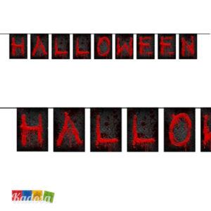 Banner Ghirlanda Halloween Insanguinata - Kadosa
