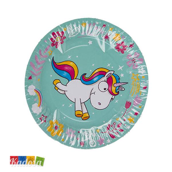Sass /& Belle Set di 8/bicchieri di carta arcobaleno Unicorn