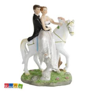 Cake Topper Nozze Sposi a CAVALLO - Kadosa