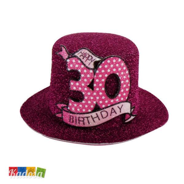 Mini Cappellino 30 Anni - Kadosa