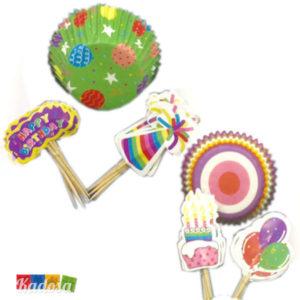 Pirottini Cupcake con Topper - Kadosa