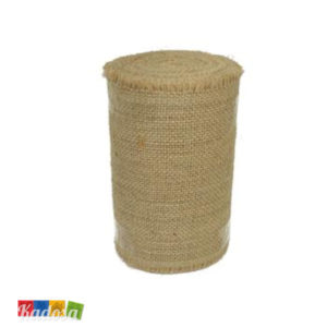 Rotolo JUTA Naturale h 15 cm x 39 Mt per Decorazioni Country - Kadosa