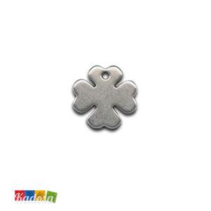 1 Ciondolo Charms Quadrifoglio 20x20mm - kadosa