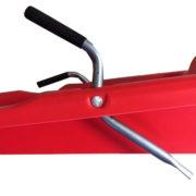 Slitta Bob Italia ROSSO con Freni in Metallo - Kadosa
