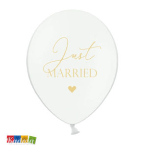 50 Palloncini Just Married 30 cm - Kadosa