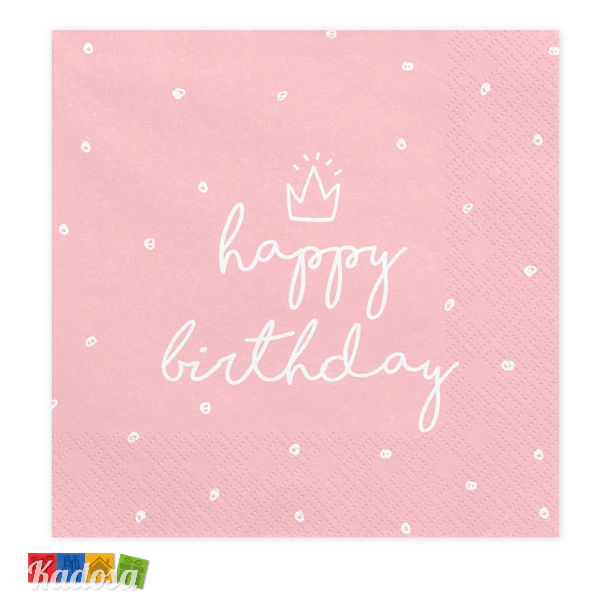 fenicotteri 11,6 x 16,6 cm motivo Biglietto di auguri con scrittaHappy Birthday